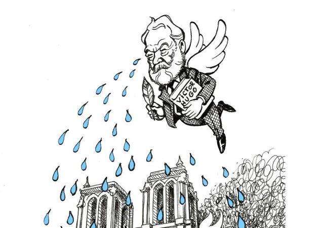 L'incendie de Notre-Dame de Paris maîtrisé