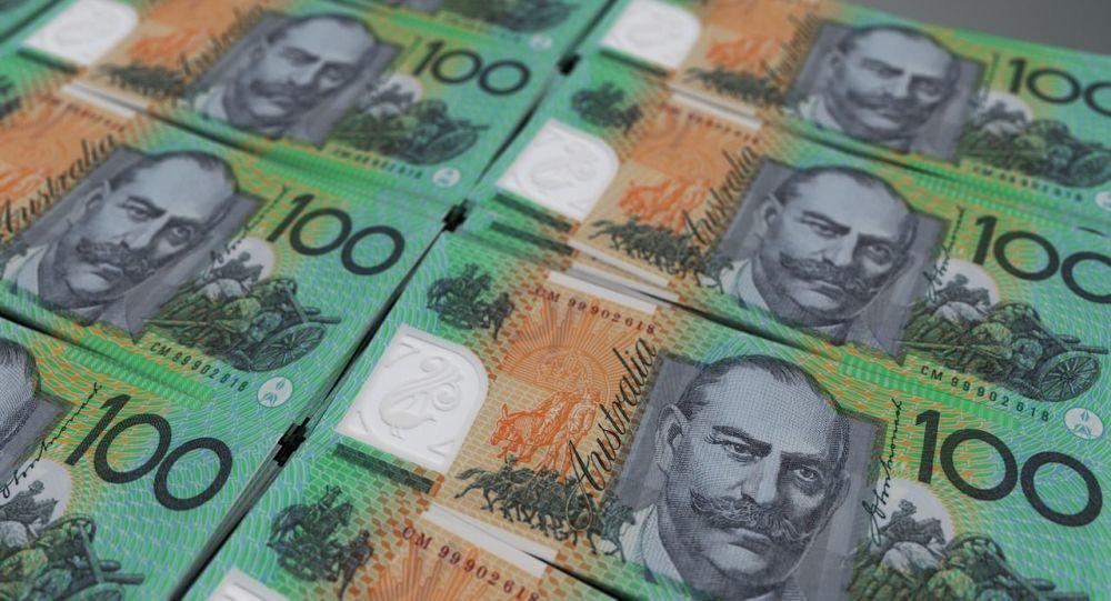 Des billets de banque de 100 dollars australiens
