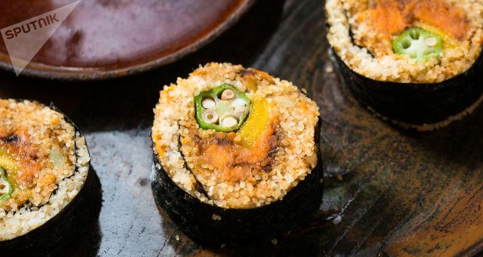 Sushi de Fonio