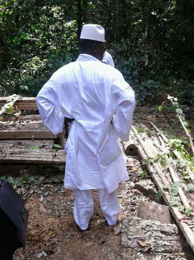 Yahya Jammeh dos tourné