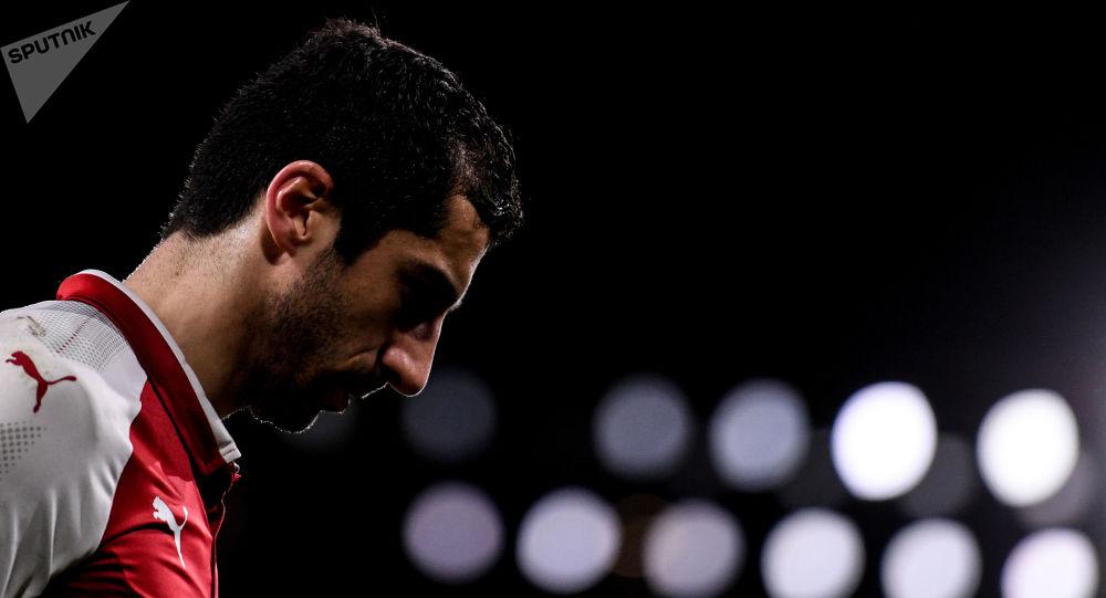 Un attaquant arménien d'Arsenal privé de finale d'Europa Ligue pour des raisons politiques