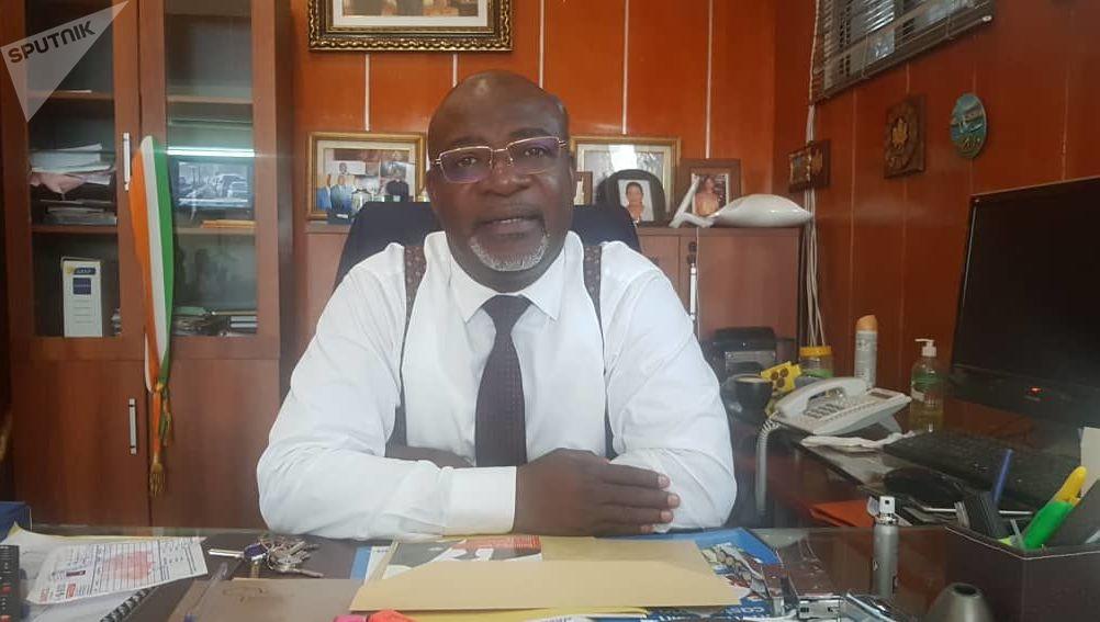 Dominique Adié, président du mouvement «Pour la République et la Démocratie» (PRD)