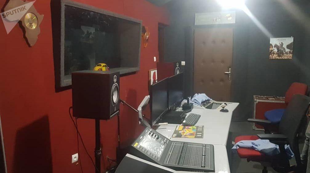Studio où fut enregistré l'album «Le monde est chaud»