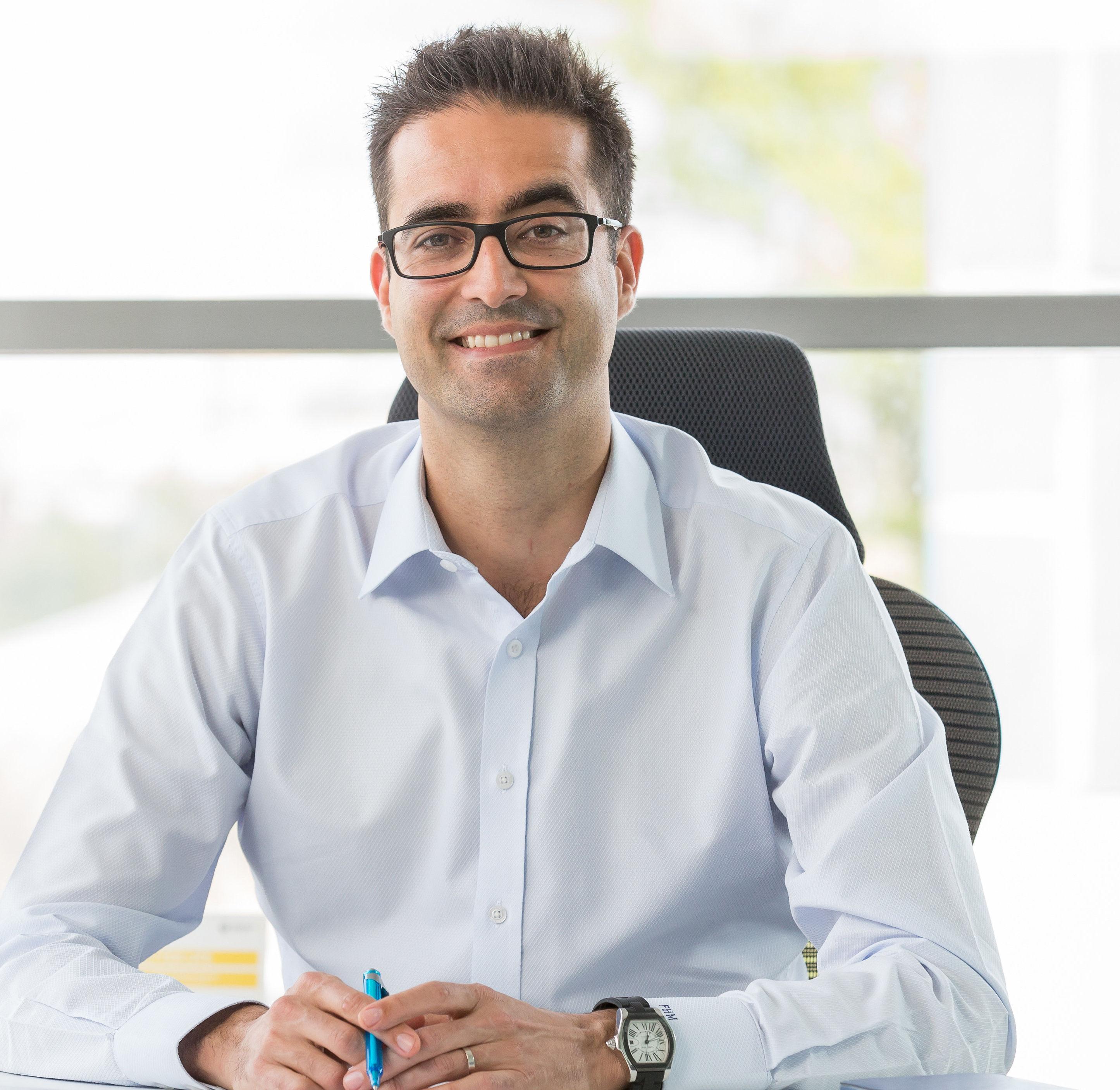 Francisco Hidalgo-Marquez, le directeur marketing de la filiale Renault en Russie