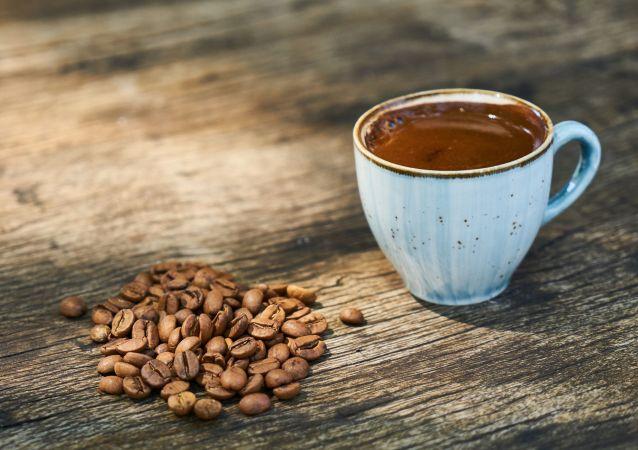 Un tasse de café