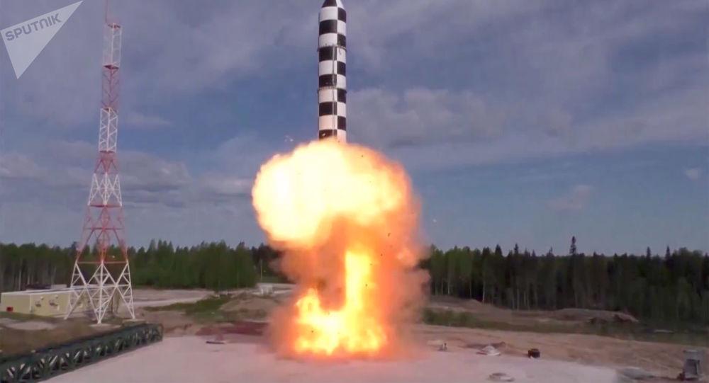 Un essai du système de missile russe Sarmat