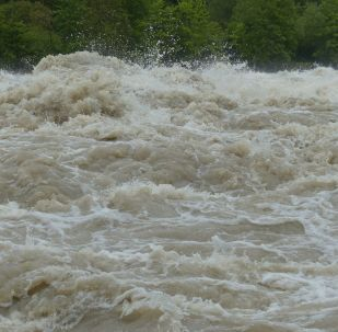 Inondation, image d'illustration
