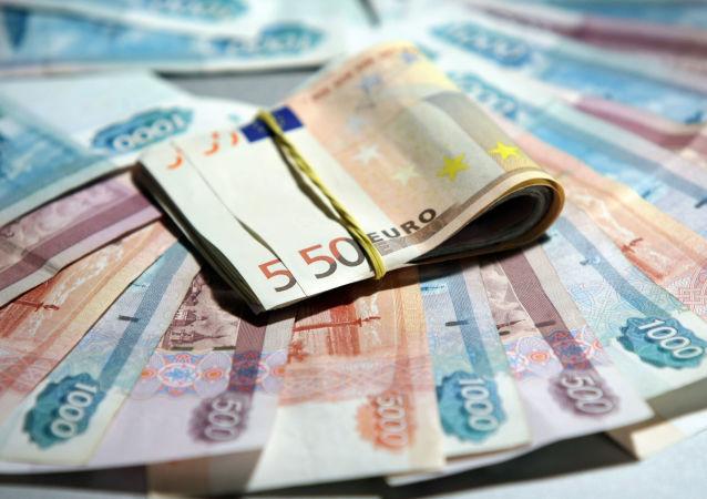 Euros et roubles