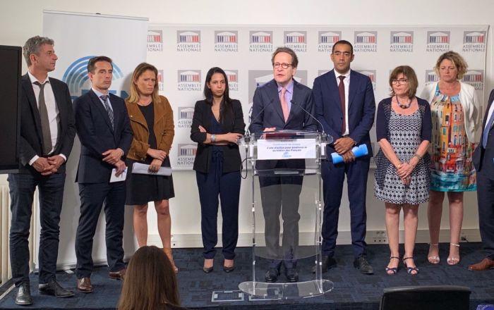 Conférence de presse du groupe LaREM à l'Assemblée nationale, 18 juin 2019