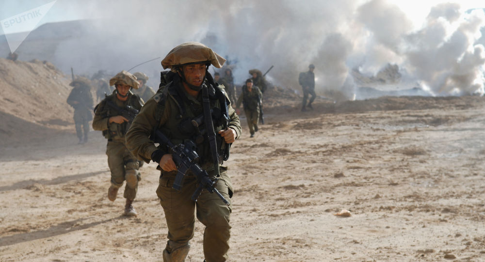 Exercices militaires d'Israël