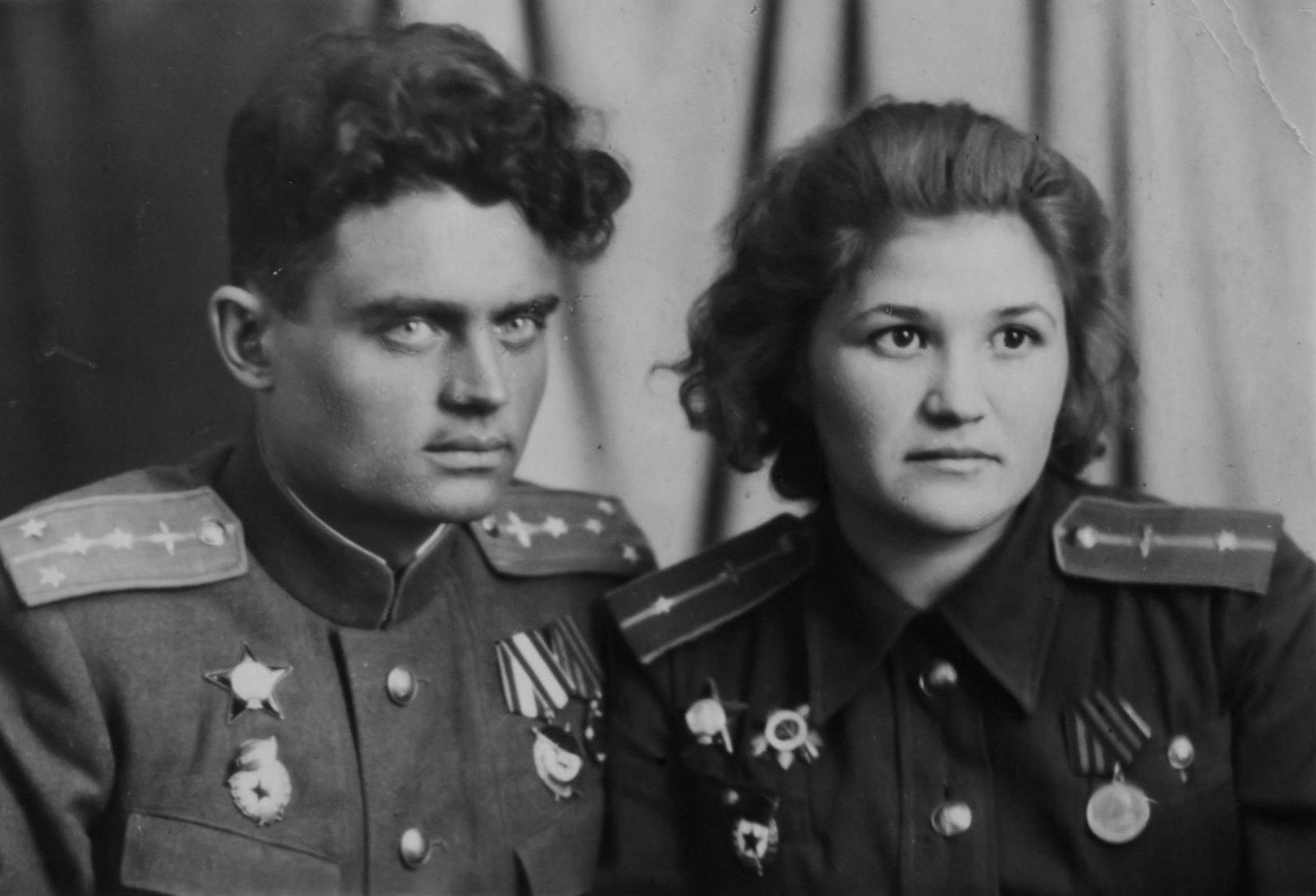 Galina Brok et Gueorgui Beltsov