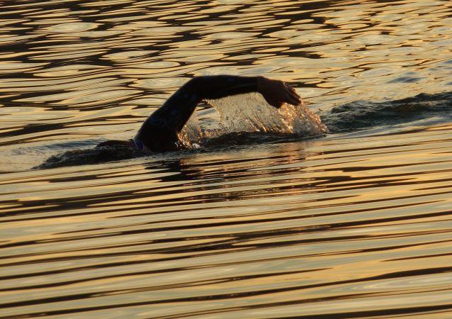 Un nageur (image d'illustration)