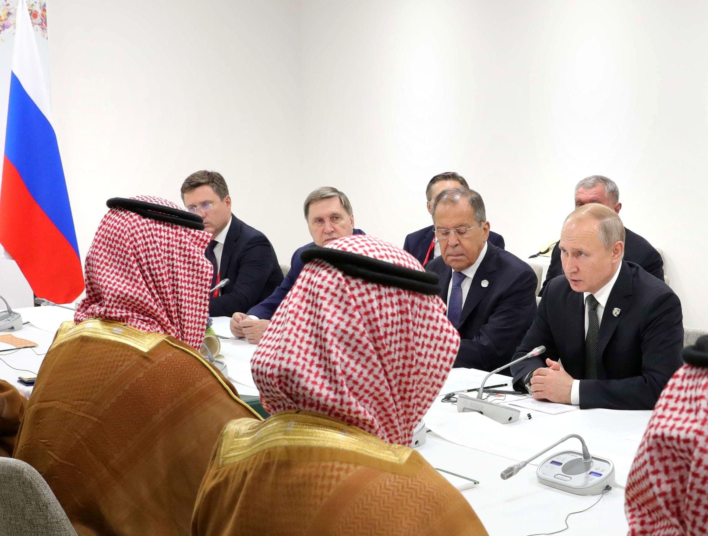 Rencontre bilatérale russo-saoudienne à Osaka