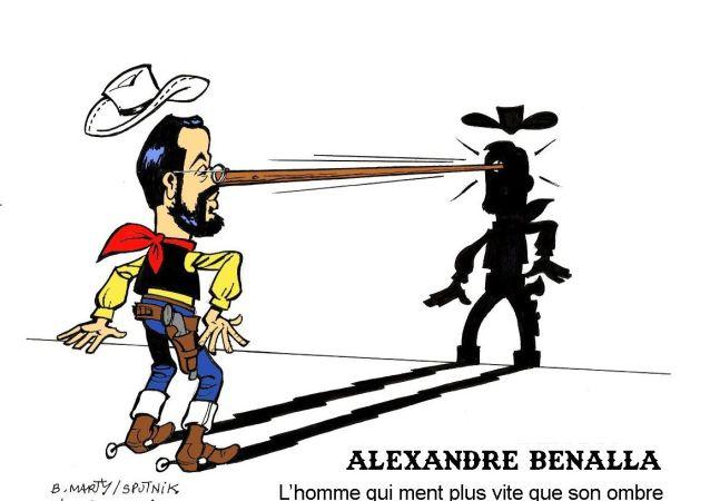 BD sur «l'affaire Benalla»? L'homme qui ment plus vite que son ombre