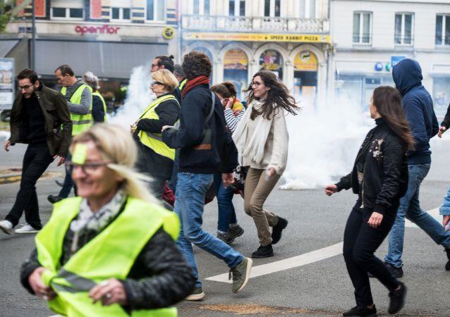 Des Gilets jaunes à Lille