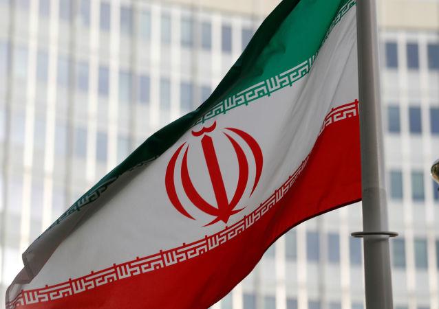 Le drapeau iranien
