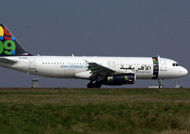 Un Airbus A320 d'Afriqiyah Airways (archive photo)