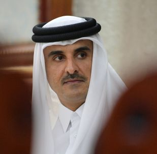 L'émir du Qatar Tamim ben Hamad Al Thani