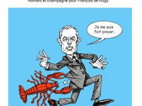 Des homards «aux frais de la République» pour de Rugy