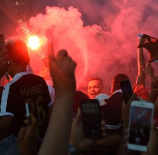 festivités après le match Côte d'Ivoire-Algérie, image d'illustration