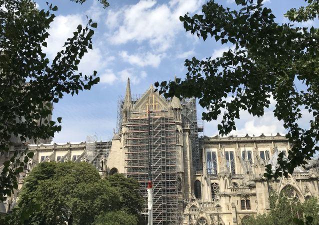 Notre-Dame de Paris, le 7 juillet 2019