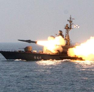 Tir d'un missile hypersonique Moskit