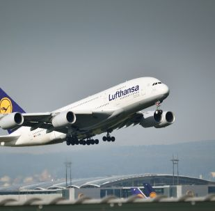 un avion de Lufthansa
