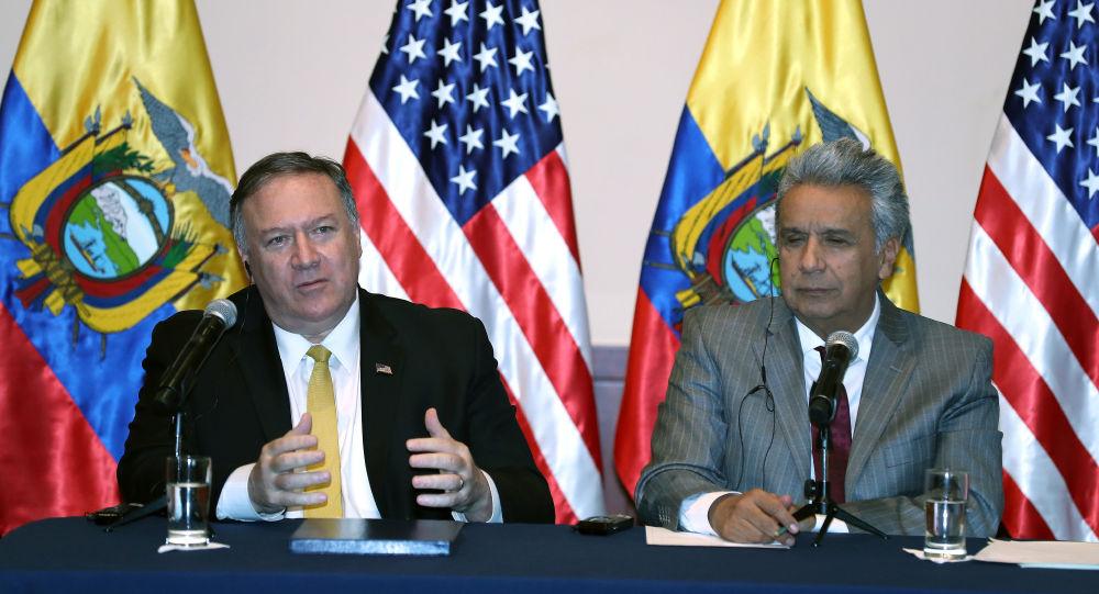 Julian Assange sera extradé vers les États-Unis, assure Mike Pompeo