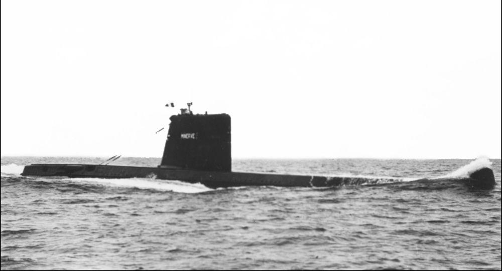 Un sous-marin français disparu il y a 50 ans, retrouvé au large de Toulon