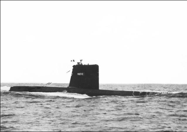 le sous-marin français Minerve disparu en 1968