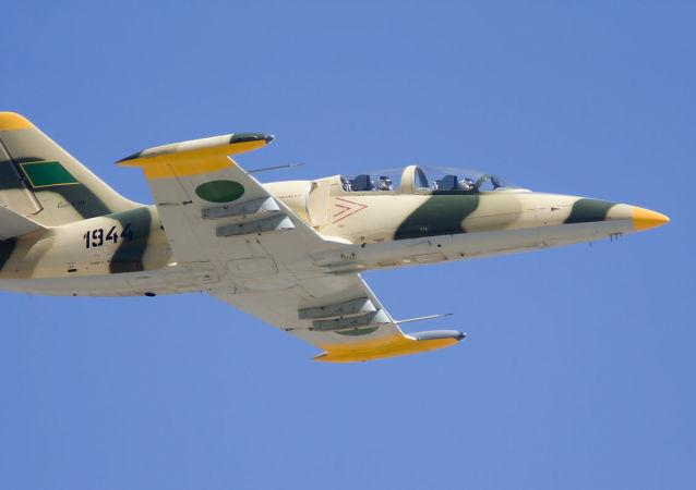 Un avion militaire libyen de type L-39