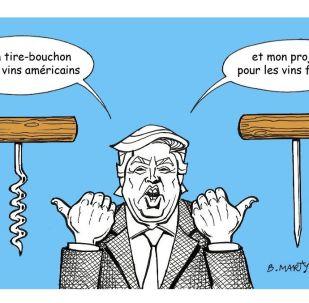 Taxe GAFA: Donald Trump menace les vins français de représailles