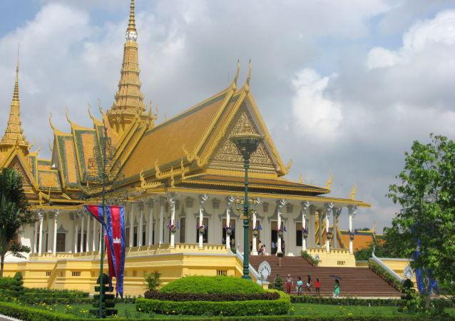 Palais royal à Phnom Penh