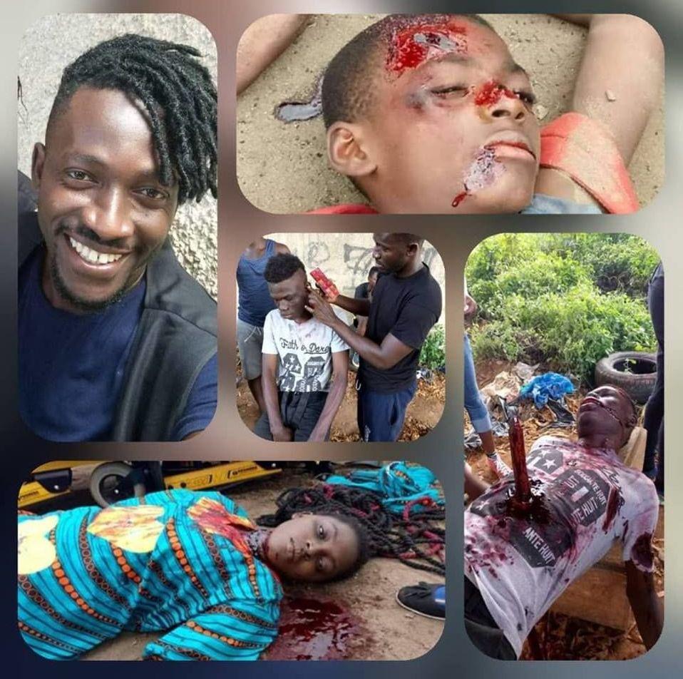 Un florilège de scènes où les maquillages effets spéciaux de Toussaint Kouamé ont bluffé les téléspectateurs