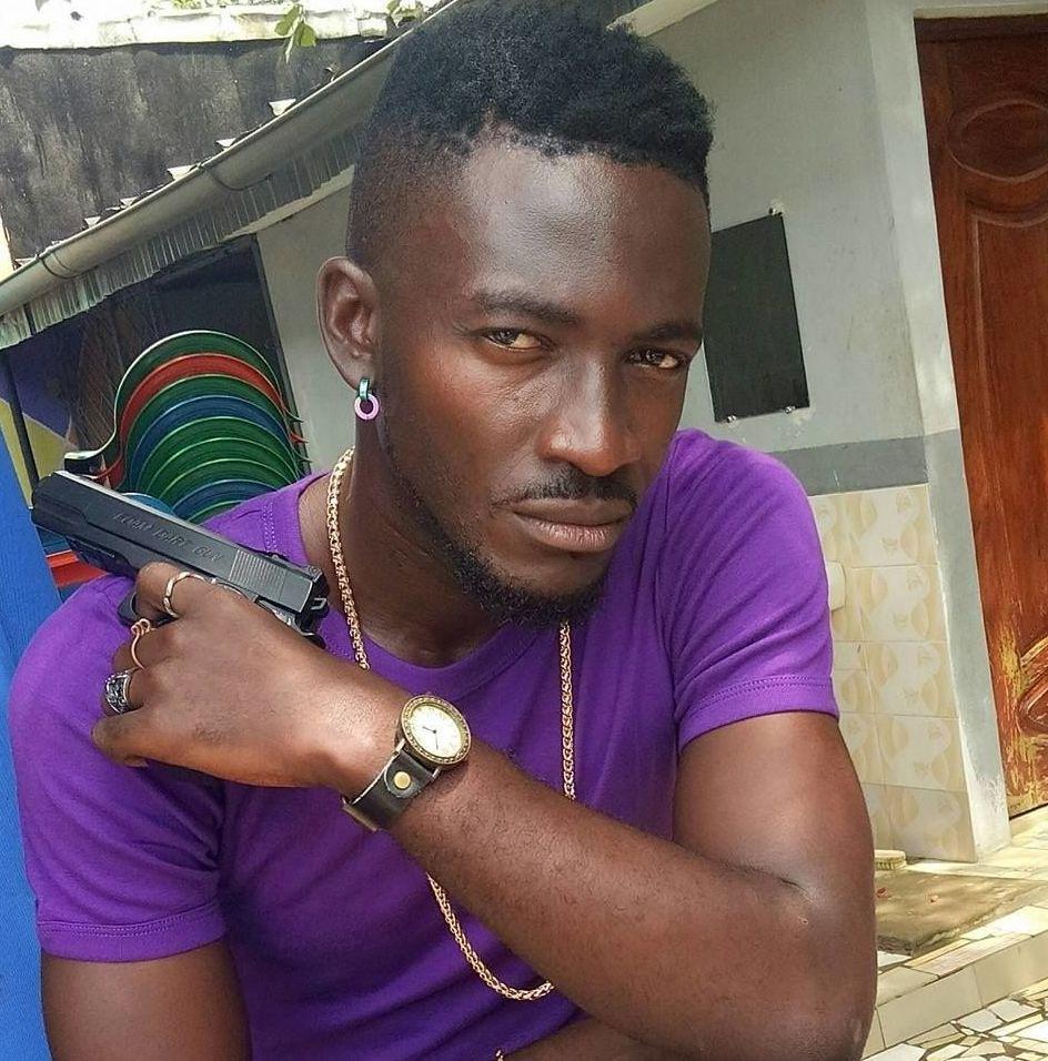 Toussaint Kouamé, l'acteur