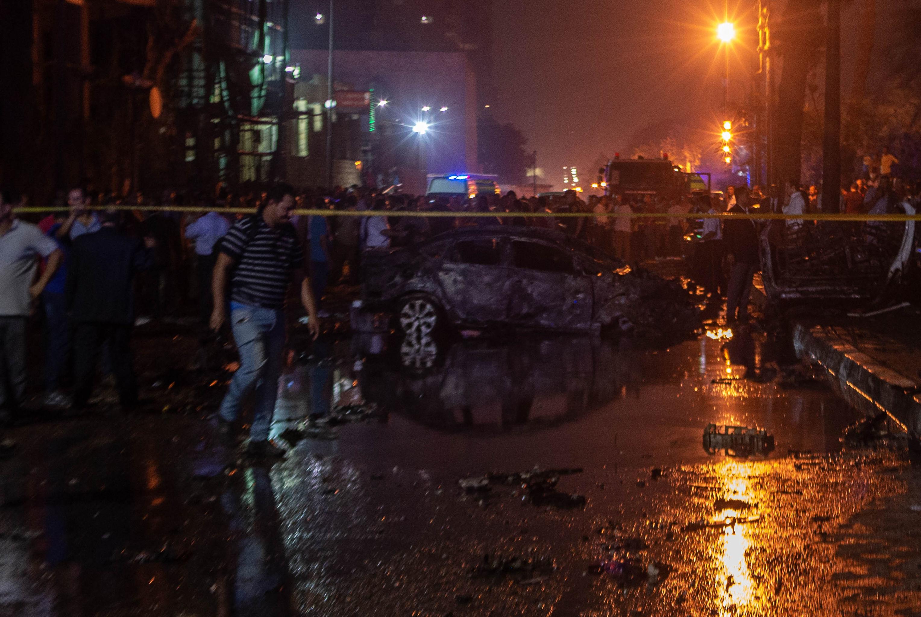 La collision meurtrière entre des voitures au Caire qualifiée d'acte terroriste