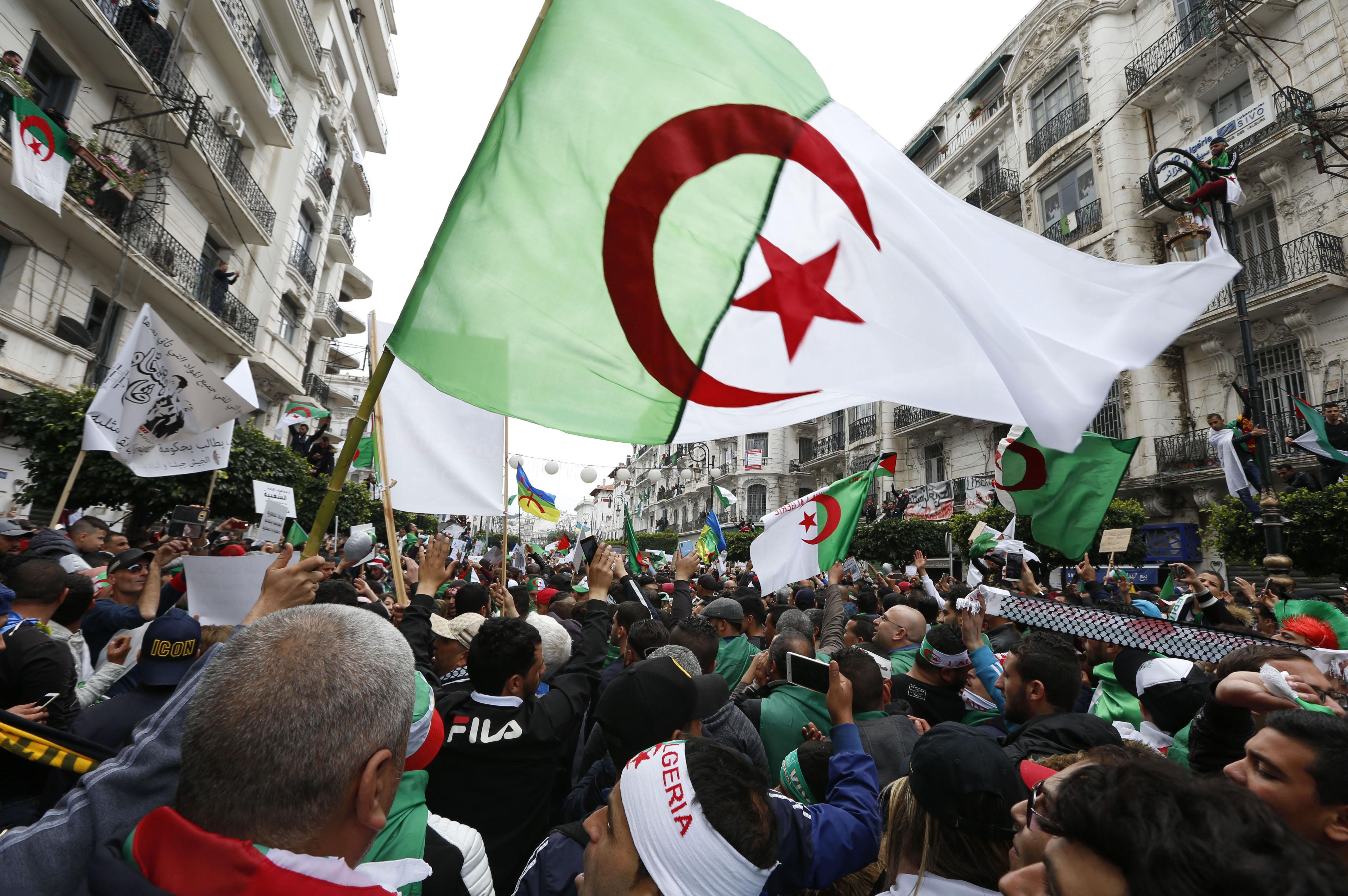 Manifestations en Algérie, archives