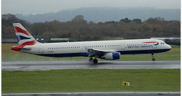 Un Airbus A321 de British Airways