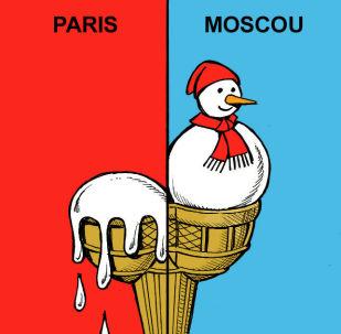 Canicule à Paris et froid historique à Moscou, les fortunes diverses du mercure