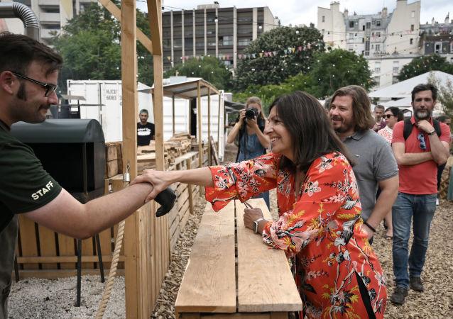 Anne Hidalgo, le 20 juillet 2019 à Paris