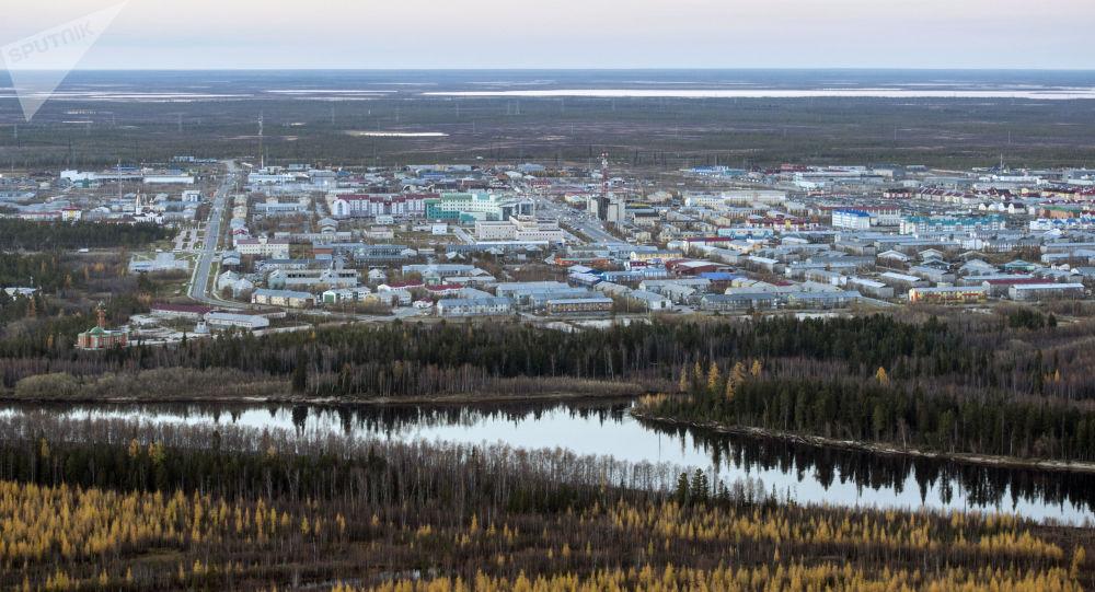 La ville de Goubkinsky dans l'Oural