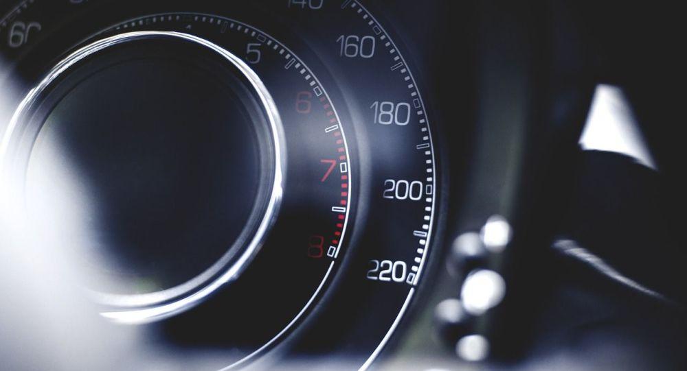 Indicateur de vitesse (image d'illustration)