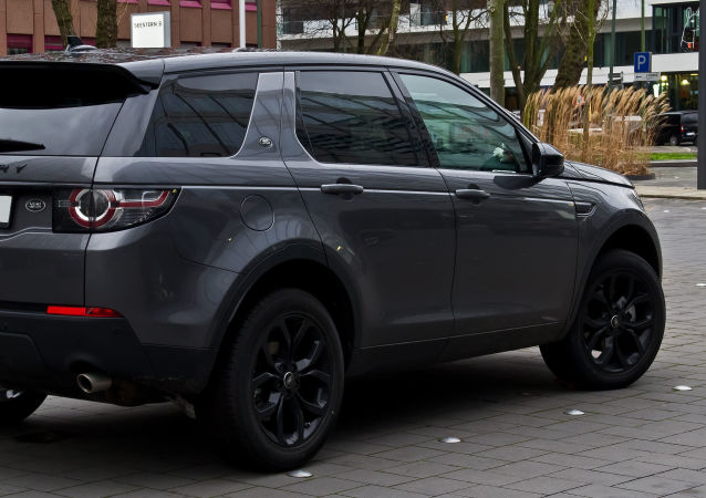 Un Land Rover Discovery Sport TD4 HSE (archive photo)