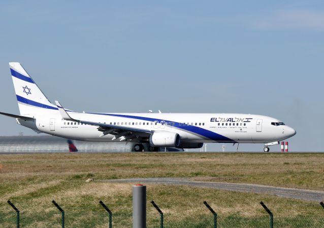 Un avion d'EL AL