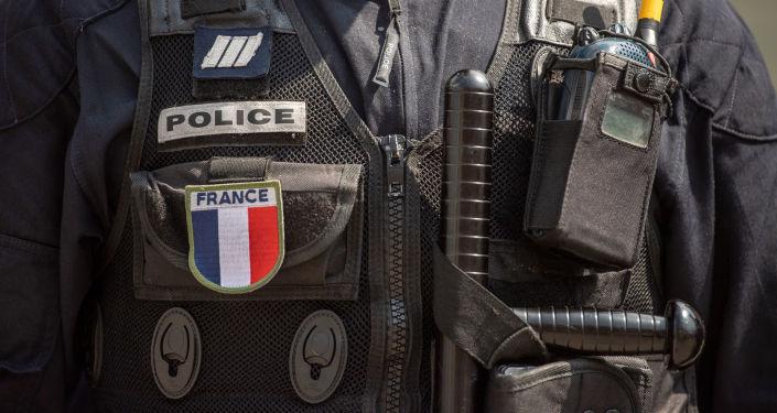 Un policier français (image d'illustration)