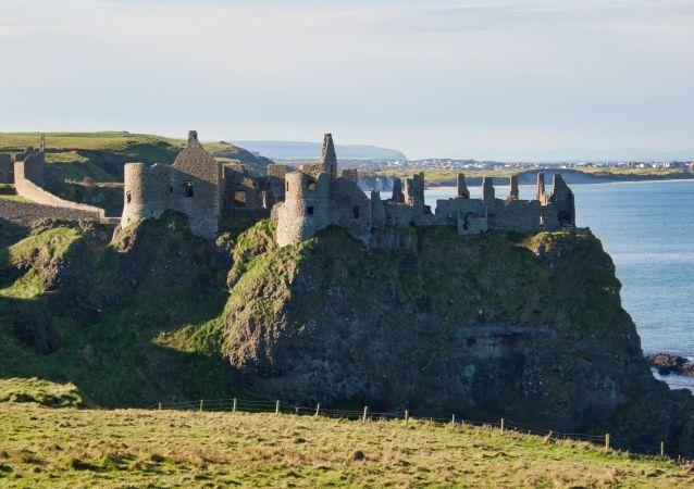 L'Irlande du Nord, le château de Dunluce