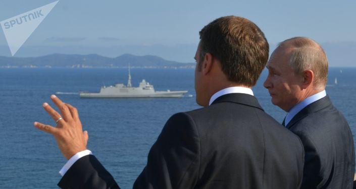 La visite de Vladimir Poutine en France