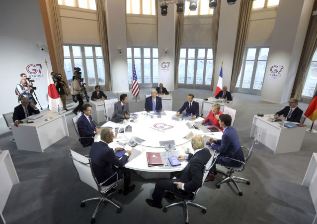 Sommet du G7 à Biarritz (archive photo)