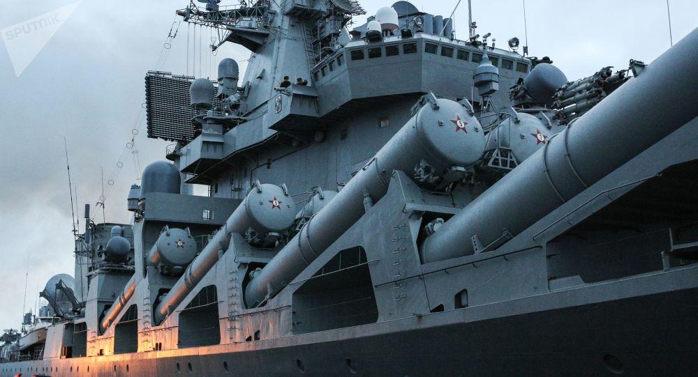 Le croiseur Maréchal Oustinov