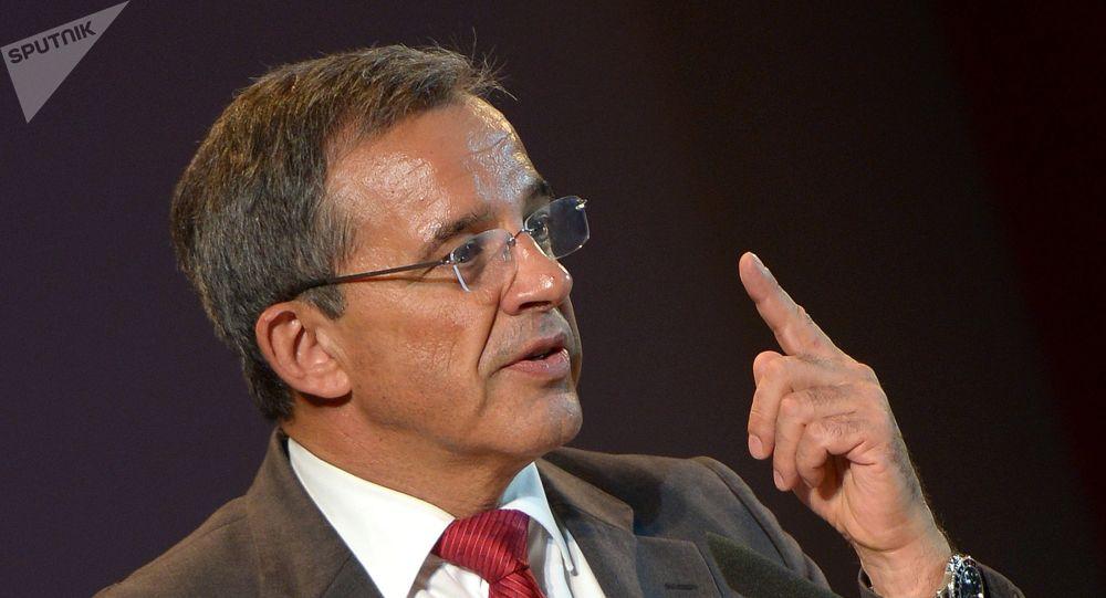 Thierry Mariani, vice-président du Groupe d'amitié France-Russie de l'Assemblée nationale